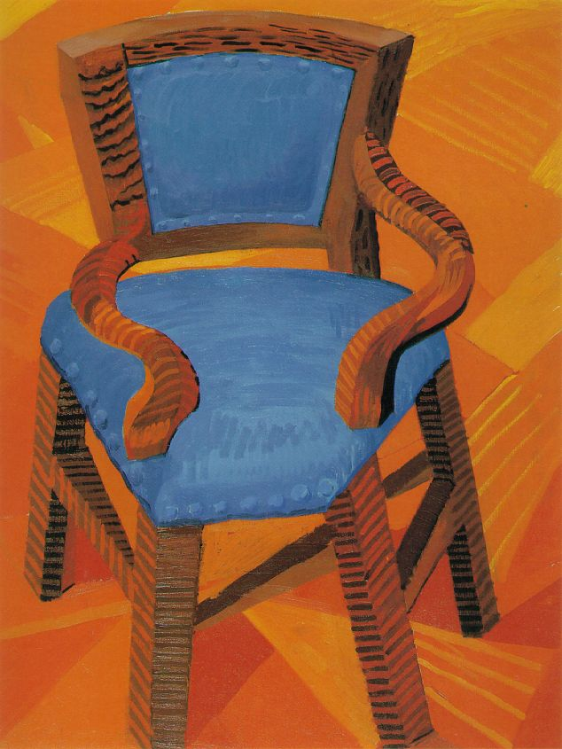 David Hockney Chair Drawings 데이비드 호크니(david Hockney